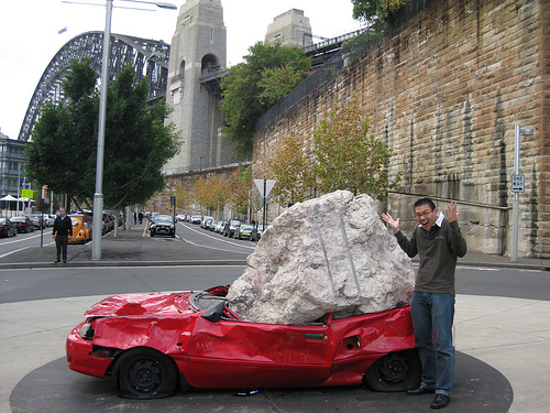smashed-car-dawes-point-sydney-australia-berno